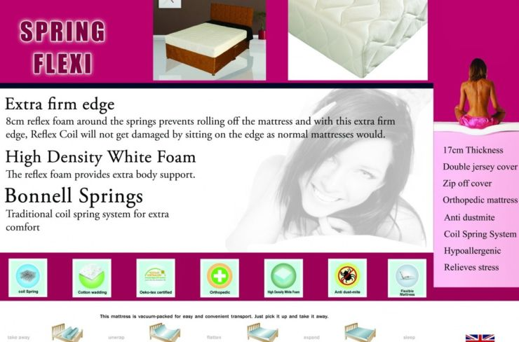 Spring Flexi Mattress Kingsize