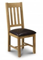 2 x Astoria Oak Dining Chairs