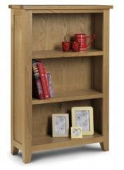 Astoria Oak Low Bookcase