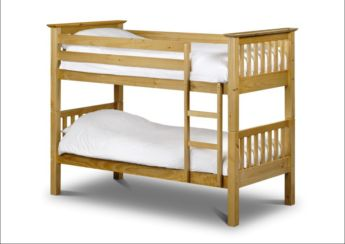 Barcelona Bunk Bed Solid Pine Wood