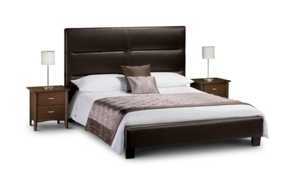Double Leather Beds