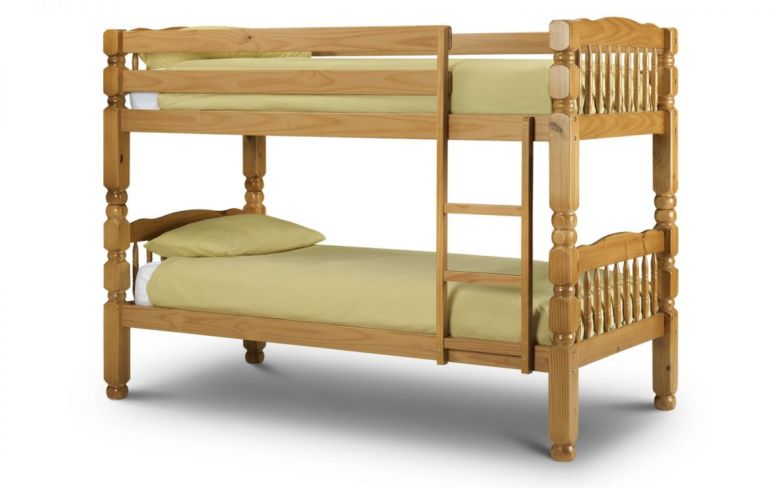 Chunky Bunk - Solid Pine - Antique Finish 90cm