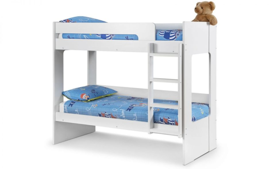 Ellie Bunk - All White Finish 90cm
