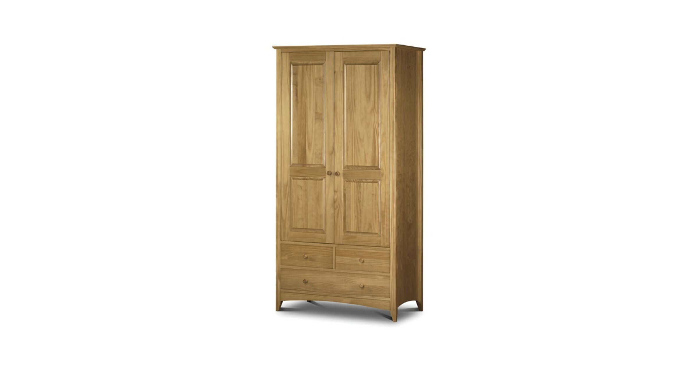 Kendal Combination Wardrobe Solid Pine
