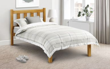 Poppy Double Pine Bed