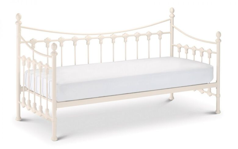 Versailles daybed - stone white finish 90cm