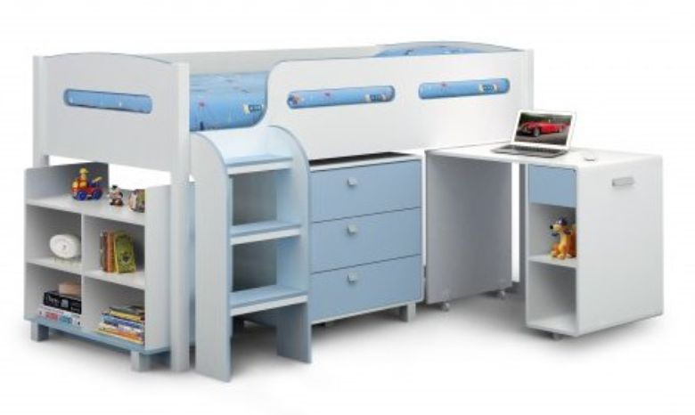 Kimbo Cabin Bed Blue
