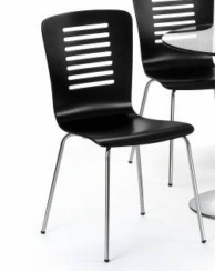 2 x Kudos Black Dining Chairs