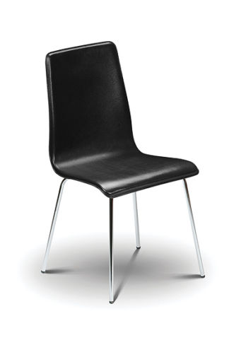 6 x Mandy Black Dining Chairs