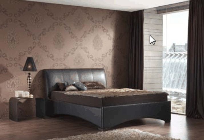 Consett Leather Bed