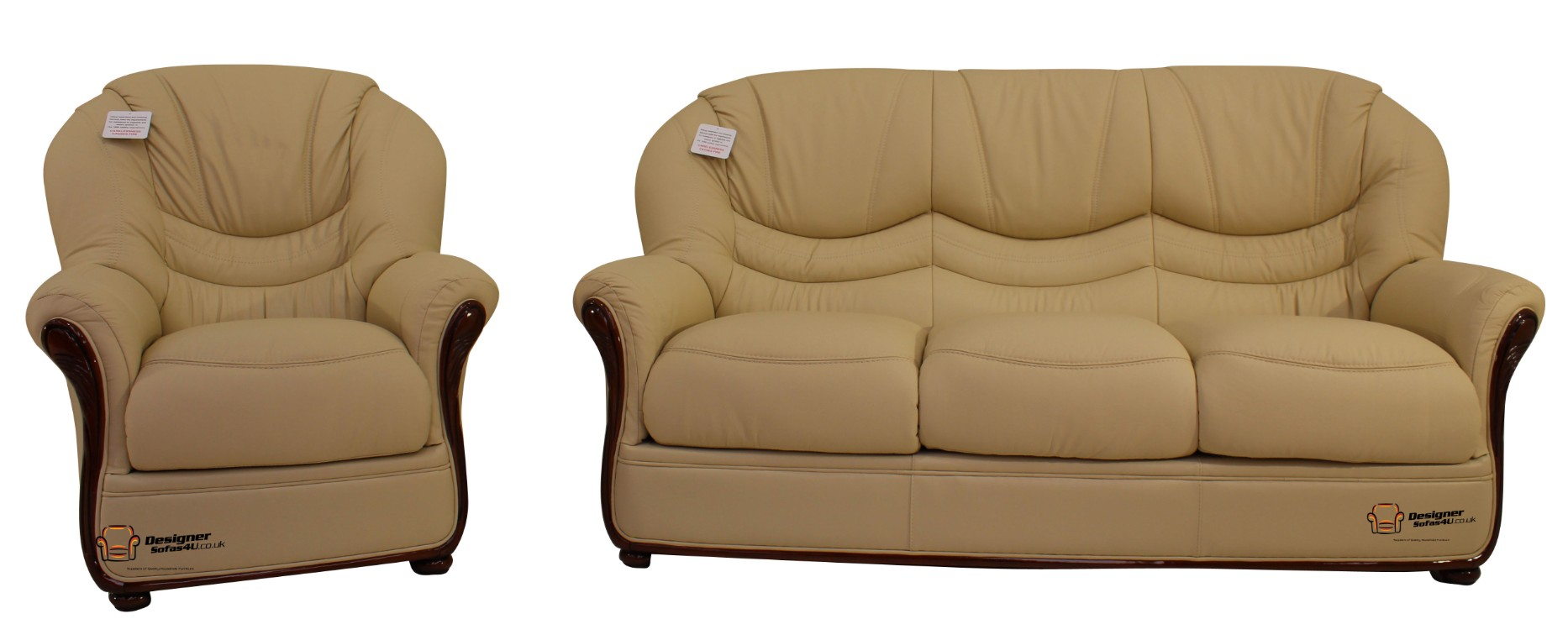 Best 3 1 genuine italian cream leather sofa suite offer leather sofas fabric sofas Italian leather sofa uk