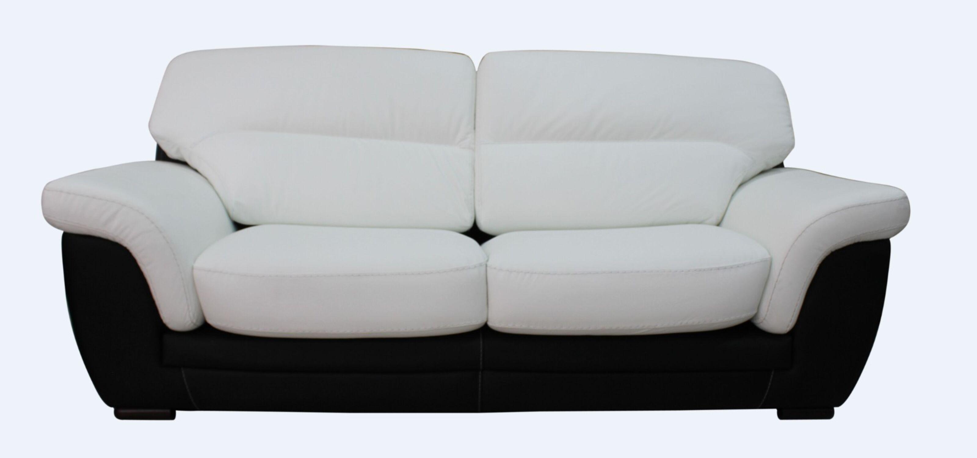 Stupendous Daniel 3 Seater Italian Leather Contemporary Sofa Black White Pdpeps Interior Chair Design Pdpepsorg