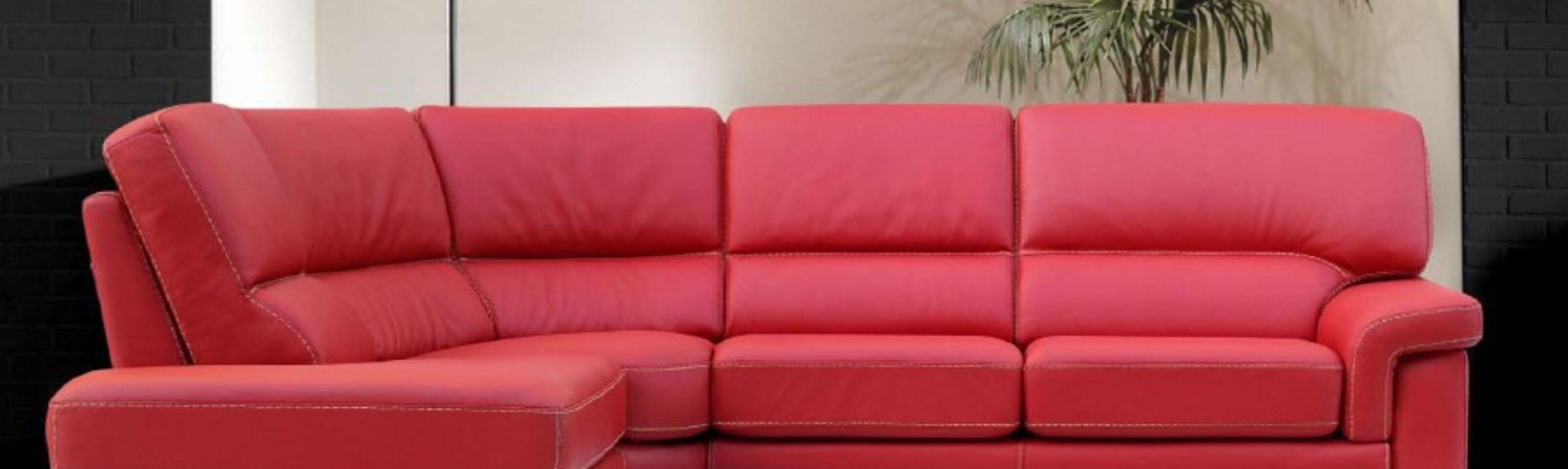 Firenze Corner Contemporary Sofa Suite Leather Sofas