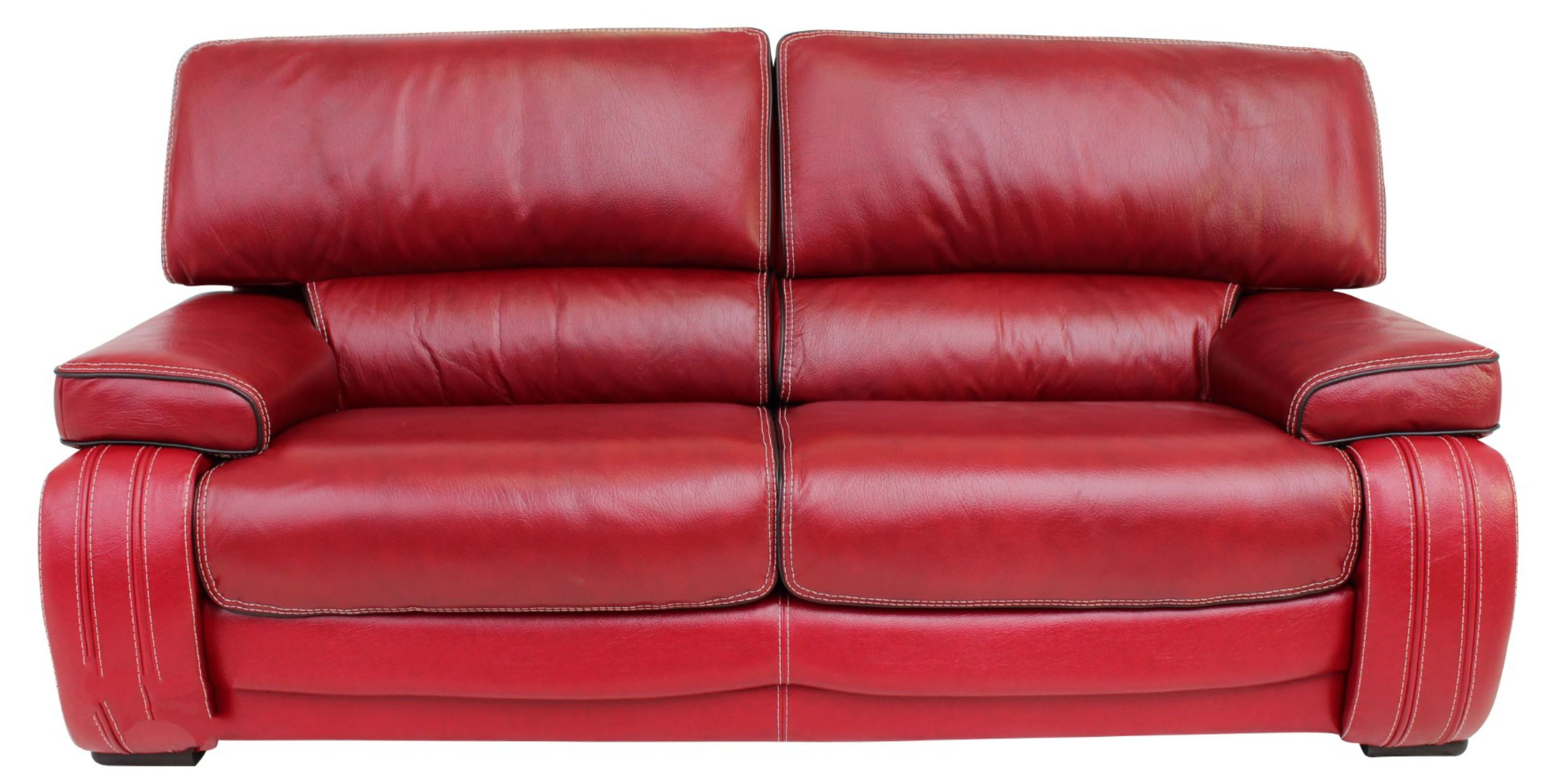 kentucky 3 seater genuine italian red leather sofa settee offer rh designersofas4u co uk red leather sofas and chairs red leather sofas for sale