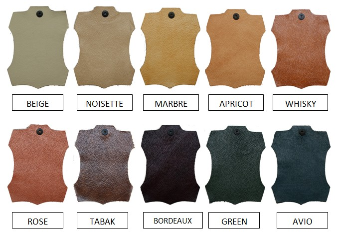Italian Leather Colours