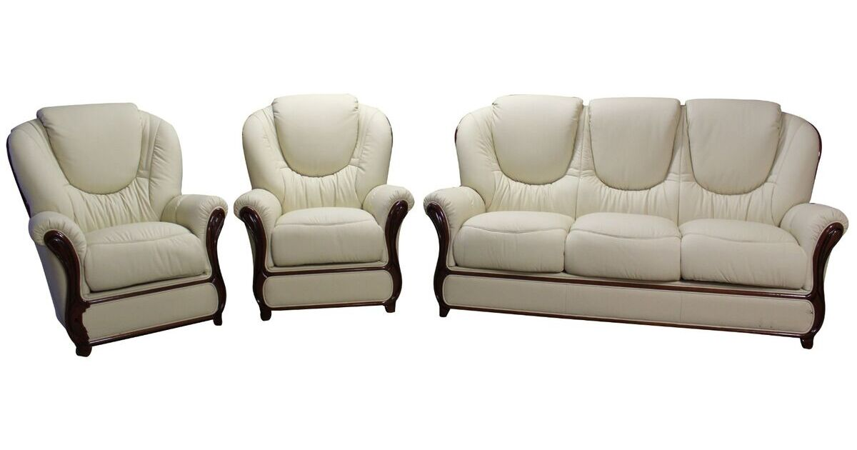 juliet 3 1 1 genuine italian cream leather sofa suite  italian leather reclining chairs
