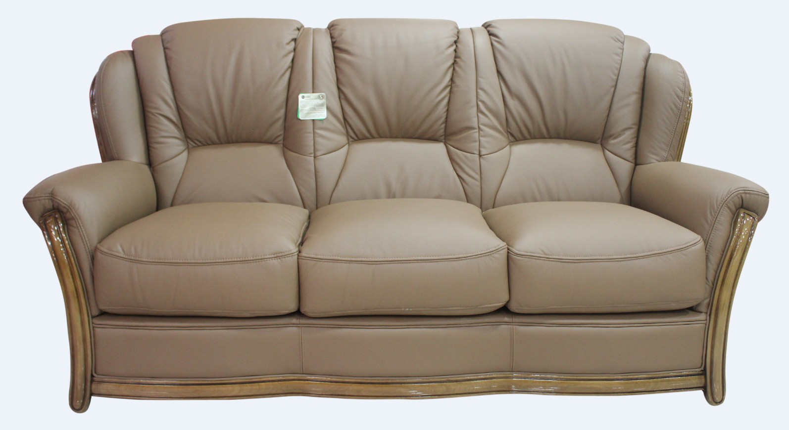 Seater Settee Pisa 3 Italian Nut Leather Sofa Offer Xnwp0nkz8o