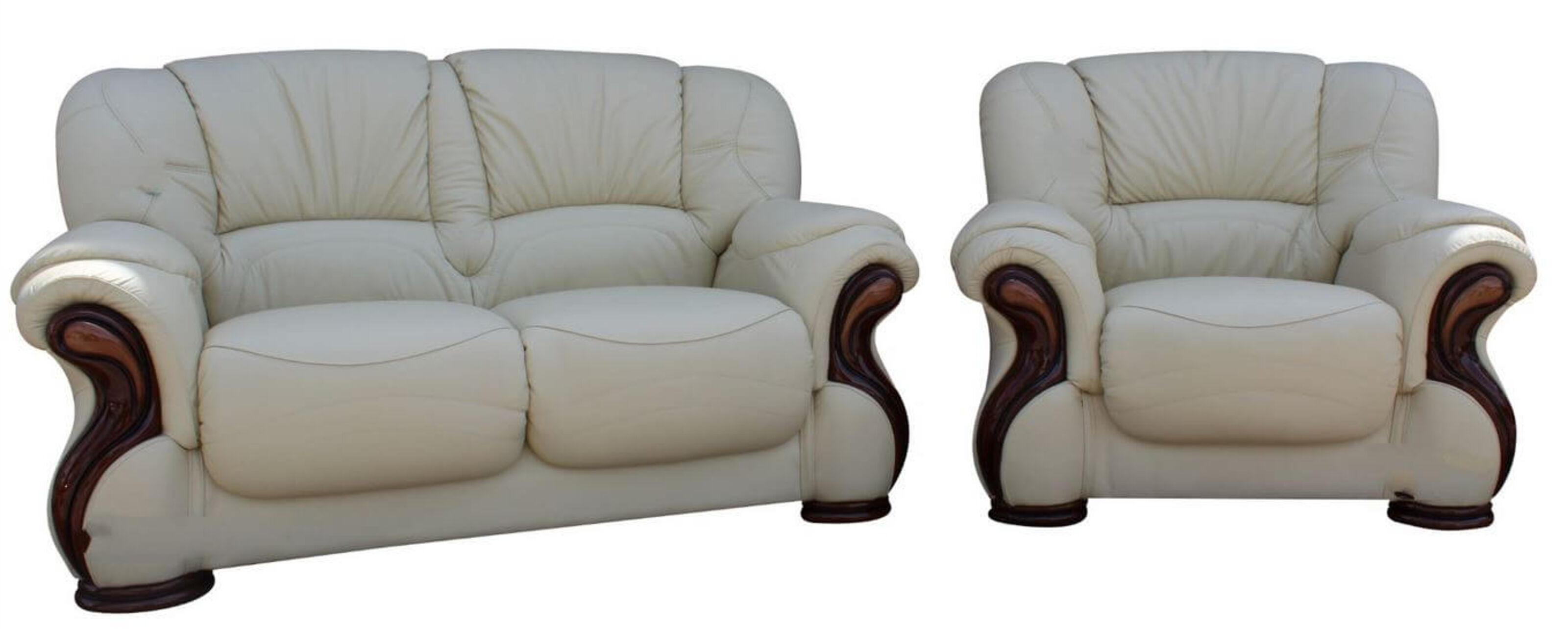 Prime Susanna 2 1 Italian Leather Sofa Suite Cream Offer Theyellowbook Wood Chair Design Ideas Theyellowbookinfo