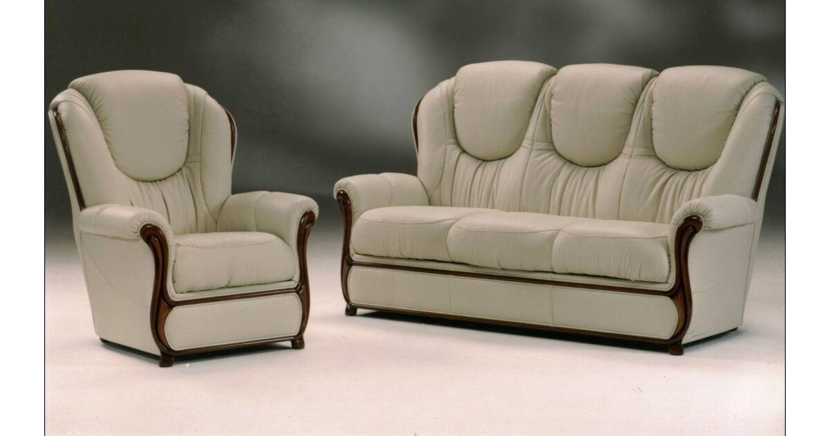 Juliet Genuine Italian Leather Sofa Settee Leather Sofas