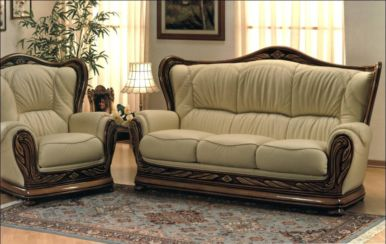 Regina Genuine Italian Sofa Settee offer