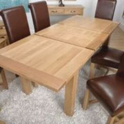Oaken 2 Leaf Extending Dining Table