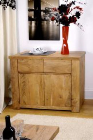 Alwar Medium 2 Door Sideboard in SOLID ACACIA