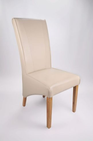 Marseille Madras Bonded Leather Chair