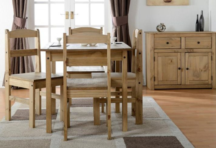 Panama Dining Set and Sideboard