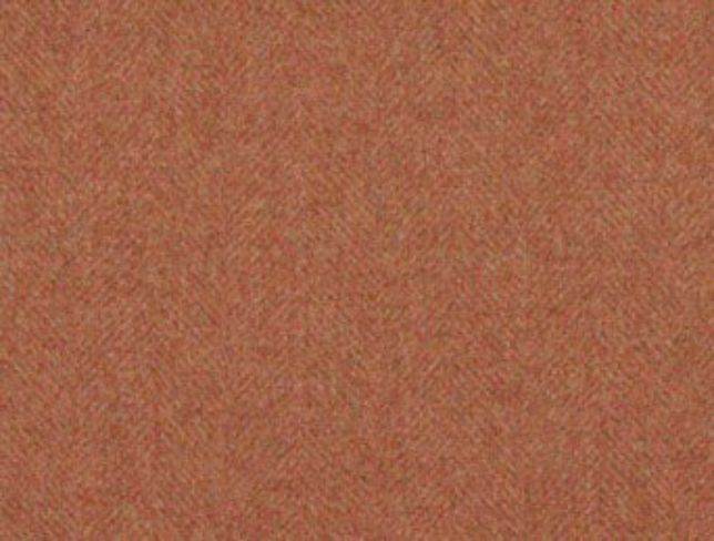 Glamis Geranium Natural Wool Tweed Fabric