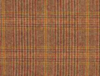 Hardwick Geranium Natural Wool Tweed Fabric