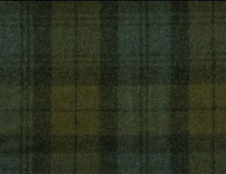 Knebworth Glacier Natural Wool Tweed Fabric