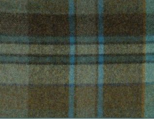 Longleat Glacier Natural Wool Tweed Fabric