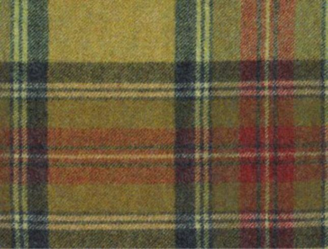 Benningborough Goldcrest Natural Wool Tweed Fabric