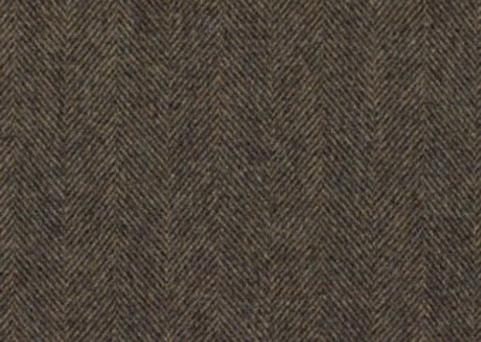 Glamis Graphite Natural Wool Tweed Fabric