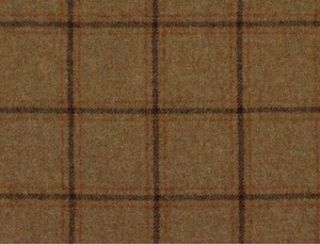 Althrop Mandarin Natural Wool Tweed Fabric