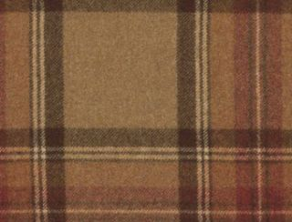 Benningborough Mandarin Natural Wool Tweed Fabric