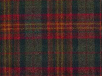 Sandringham Mandarin Natural Wool Tweed Fabric