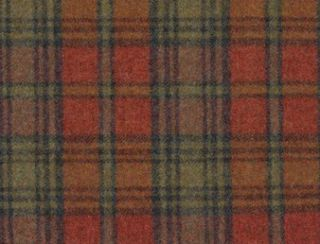 Blenheim Mandarin Natural Wool Tweed Fabric