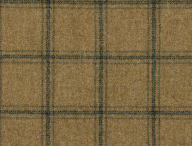 Althrop Topaz Natural Wool Tweed Fabric