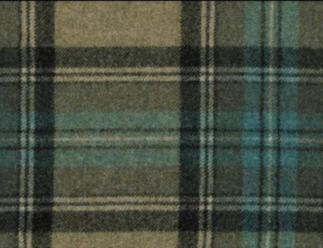 Benningborough Topaz Natural Wool Tweed Fabric