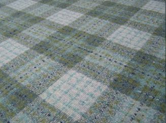 Fyvie Celestial Natural Wool Tweed Fabric
