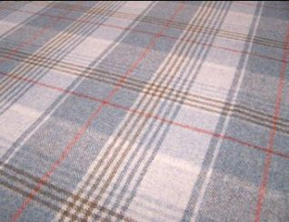 Huntingtower Celestial Natural Wool Tweed Fabric