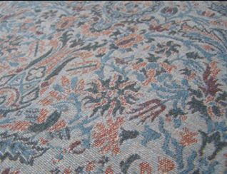 Morris Celestial Natural Wool Tweed Fabric