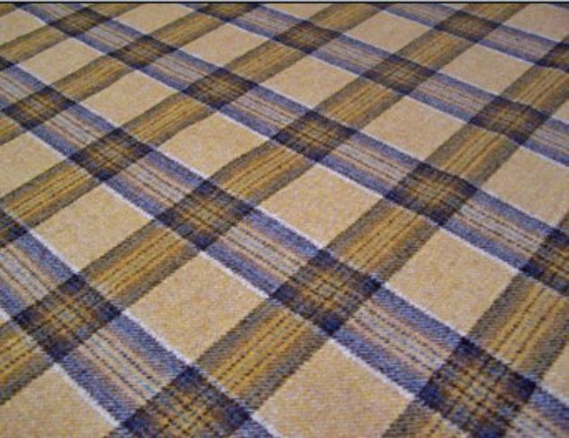 Dornoch Gold Natural Wool Tweed Fabric