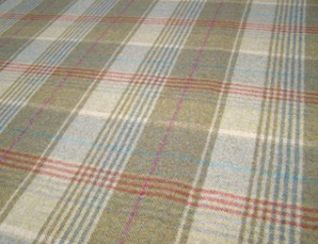Huntingtower Hemp Natural Wool Tweed Fabric