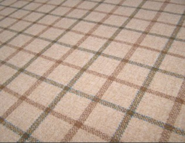 Balvaird Sand Natural Wool Tweed Fabric