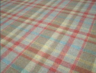 Gosford Spruce Natural Wool Tweed Fabric
