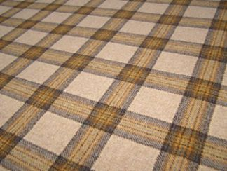 Dornoch Wheat Natural Wool Tweed Fabric
