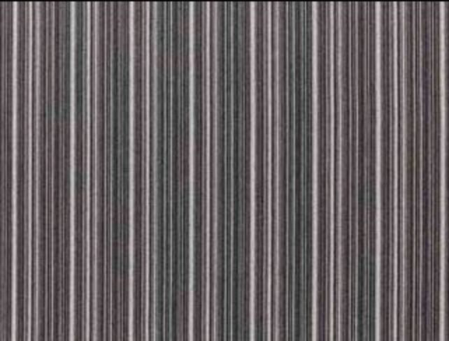 Carnaby Stripe Grey Multi Natural Wool Tweed Fabric
