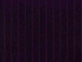 Chelsea Stripe Purple Natural Wool Tweed Fabric